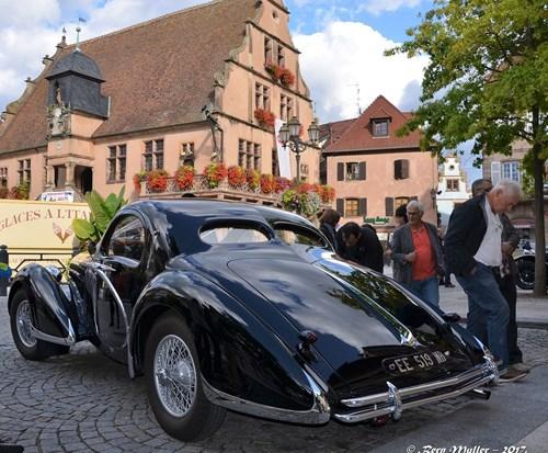 Samenkomst van Bugatti in Molsheim