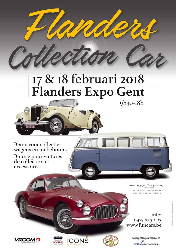 Flanders Collection Cars 2018