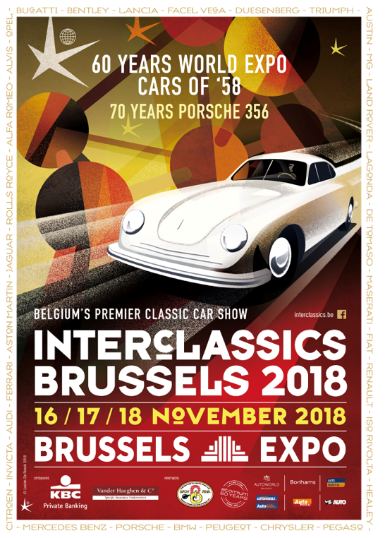 INTERCLASSICS BRUSSELS 2018
