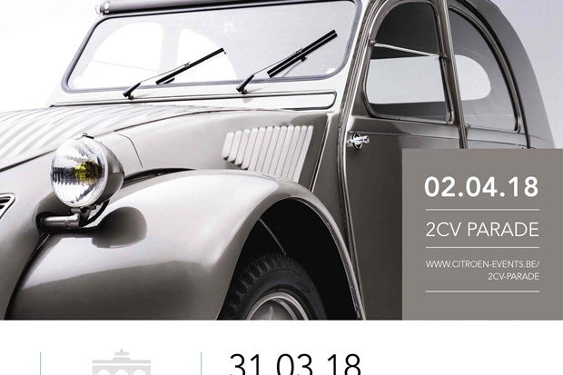 La Citroën 2CV « in the spotlight » pour ses 70 ans !