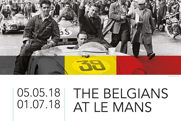 "AUTOWORLD - Du 5 mai au 1er juillet @ Autoworld : ""The Belgians at Le Mans"""