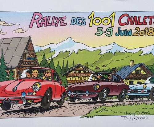 De Rallye des 1001 Châlets in Zwitserland