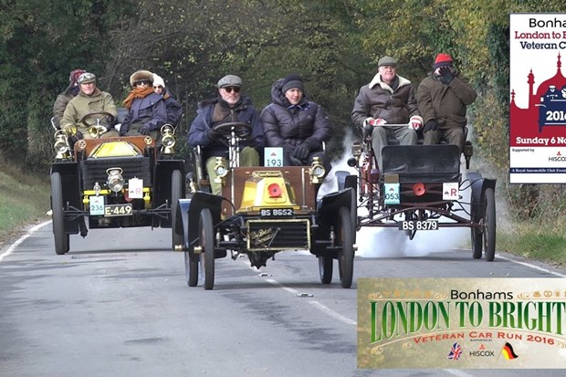 2017 London to Brighton Veteran Car Run