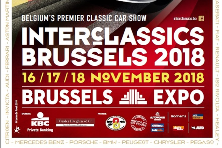 Salon Interclassics Bruxelles 2018