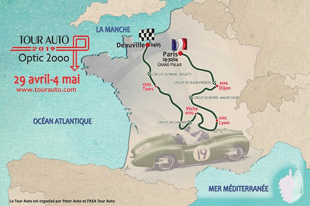 28ème édition du Tour Auto Optic 2000 - Avril 2019