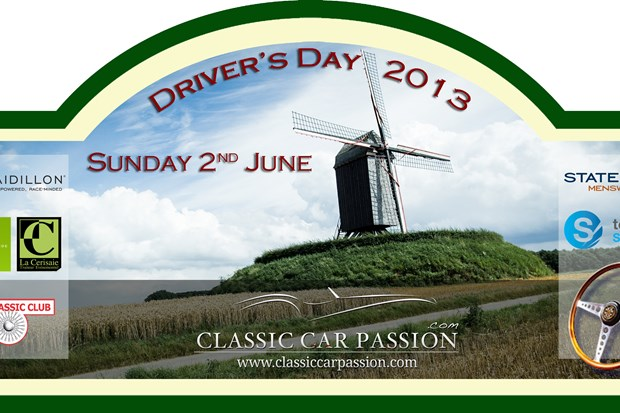 Classic Car Passion Drivers Day rallye 2 juin 2013