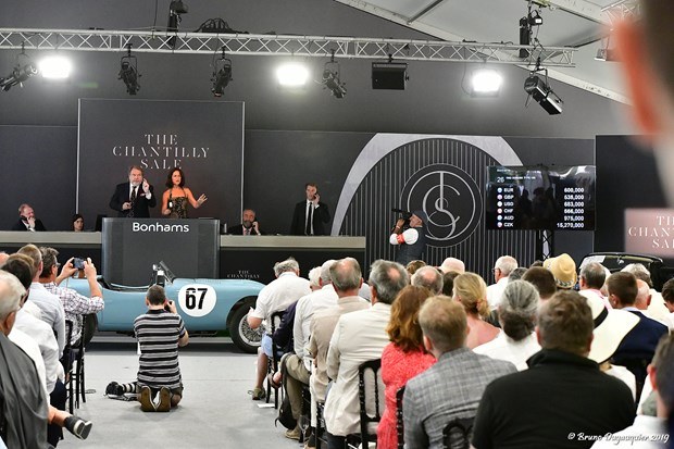 Bonhams Auction, The Chantilly Sale