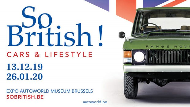 Autoworld - Video expositie So British