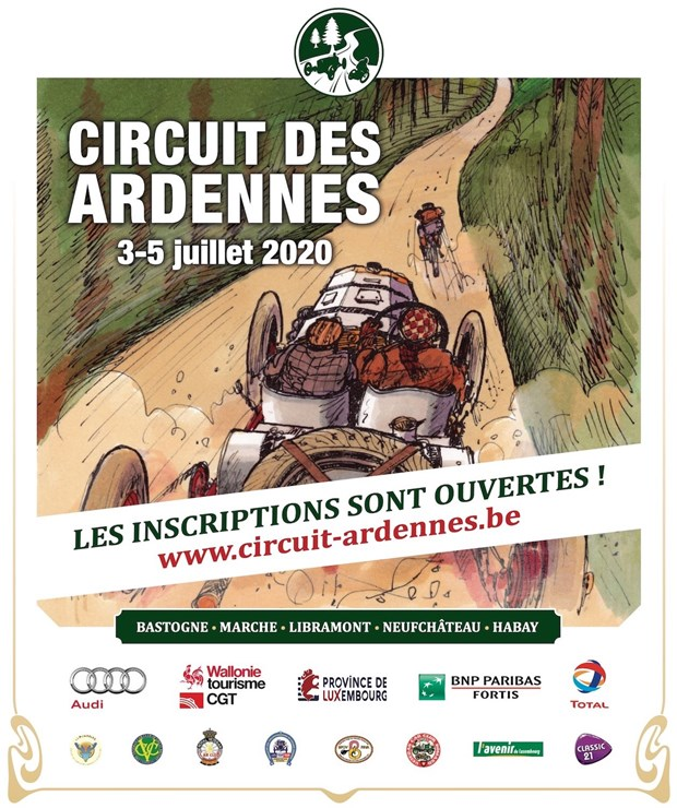 Save the Date - Circuit des Ardennes 2020