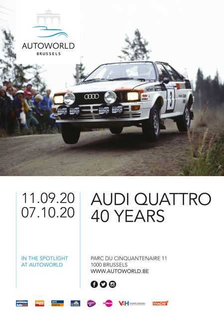 AUTOWORLD - Audi Quattro - 40 Years... in the Spotlight