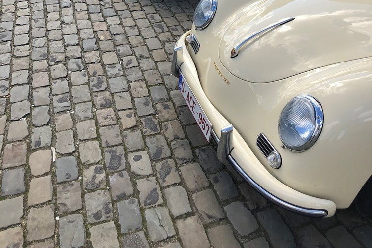 Porsche 356 gathering in Brussels