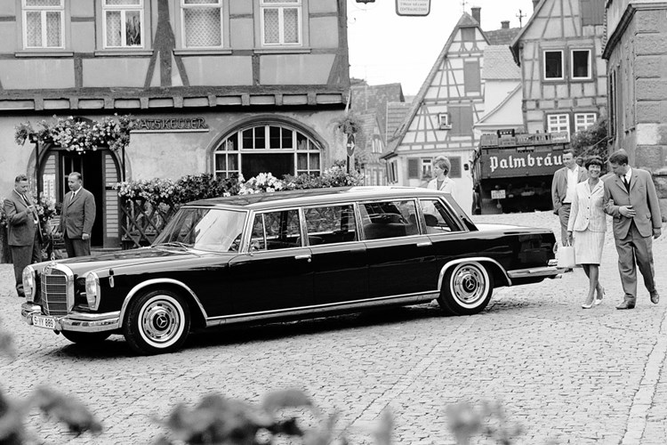 Mercedes 600, an outward sign of success