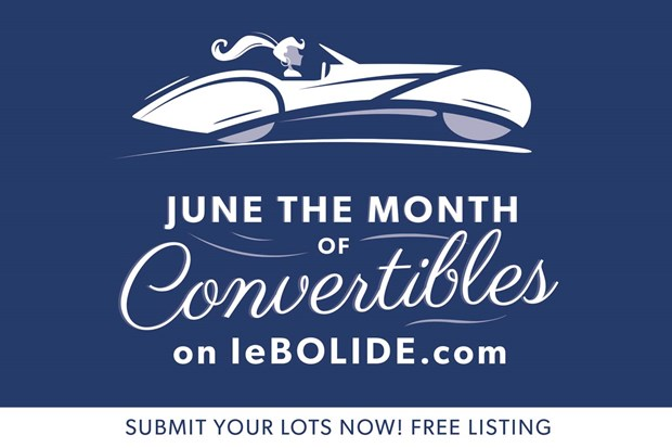 June, the month of the convertible on leBolide.com