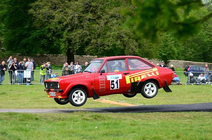 Gwyndaf Evans and Phil Mills won the Escort Cahllenge in their Mk2