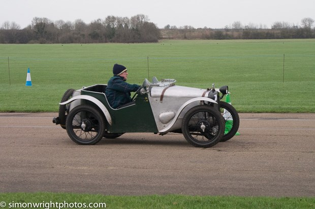 VSCC Winter Driving Tests, Bicester Heritage