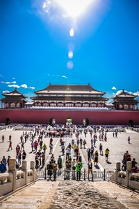 Day 2 - Discovery of the forbidden city in Beijng