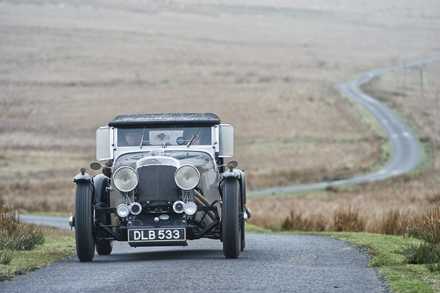 The Flying Scotsman Vintage Reliability Trial 2014