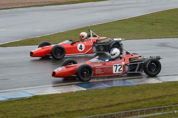 Donington Park 80th Anniversary Meeting Sunday 17th March 2013