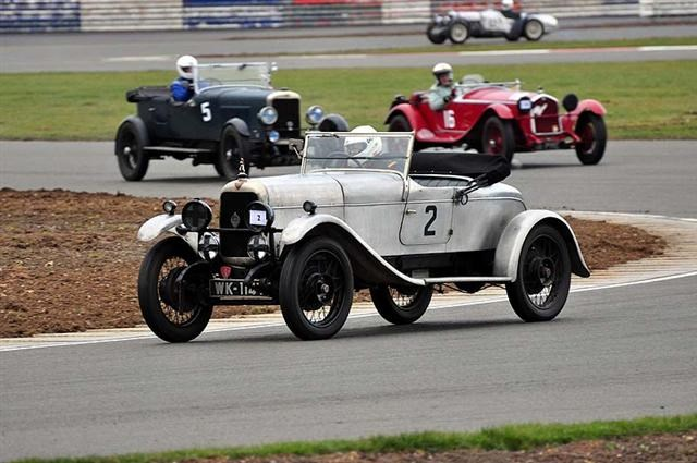 Daniel GEOGHEGAN 1927 ALVIS 12 50 SD finished 3rd in class