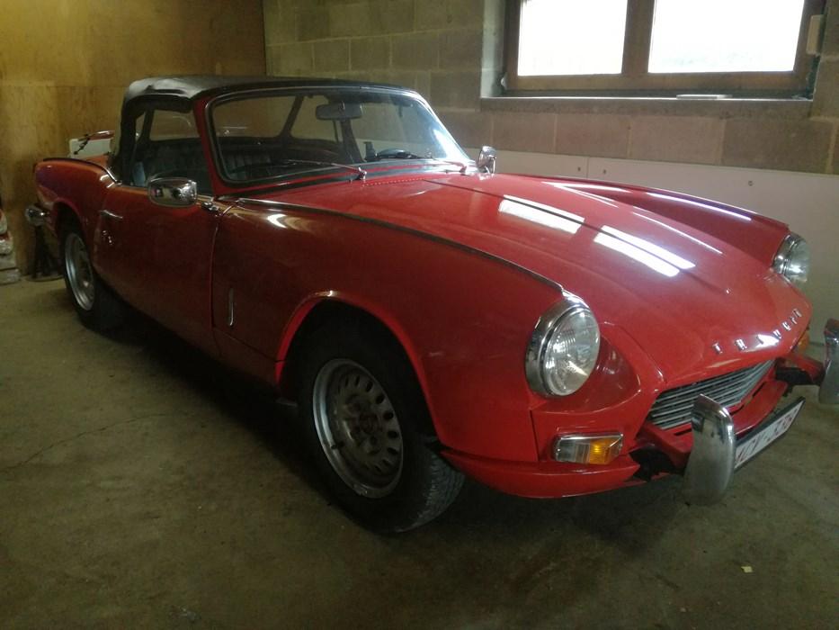 vendre triumph spitfire mk3 triumph spitfire voitures vendre classic car passion. Black Bedroom Furniture Sets. Home Design Ideas