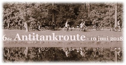 6th Antitank route for old bicycles (non-motorized)