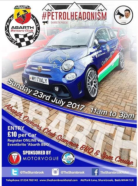 Abarth Owners BBQ 2018
