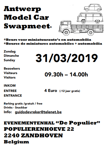 Antwerp Model Car Swapmeet