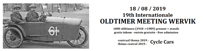 19e Internationale Oldtimer Meeting Wervik