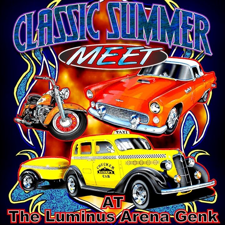 Oldtimermeeting @ The Luminus Arena (Genk)