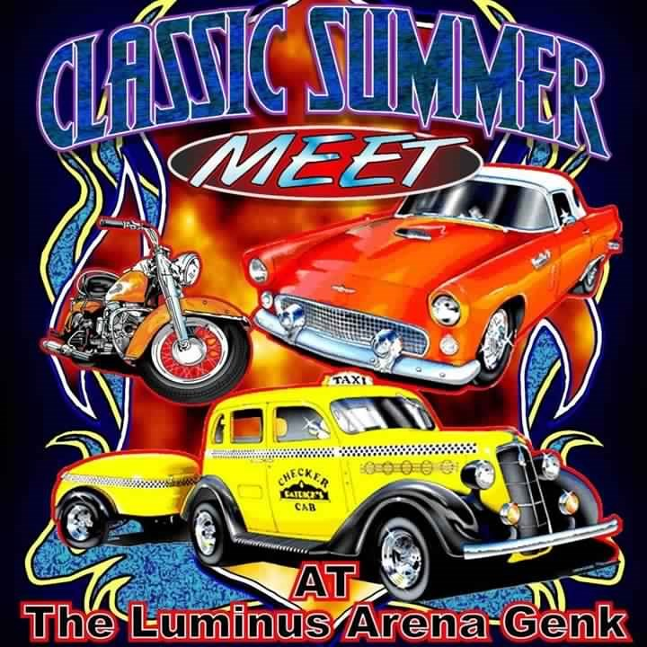 Oldtimermeeting @ The Luminus Arena (Genk) (1)