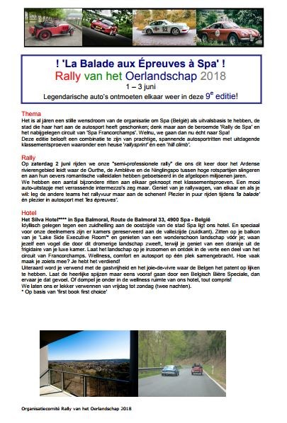 Rally of the Oelandschap