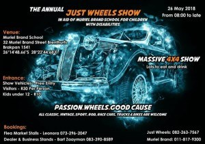 Just Wheels Show – 9th Annual