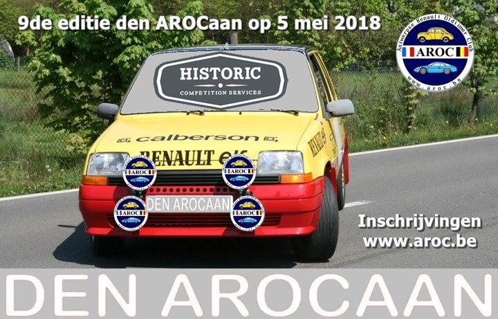 9th edition Den AROCaan (Wommelgem)