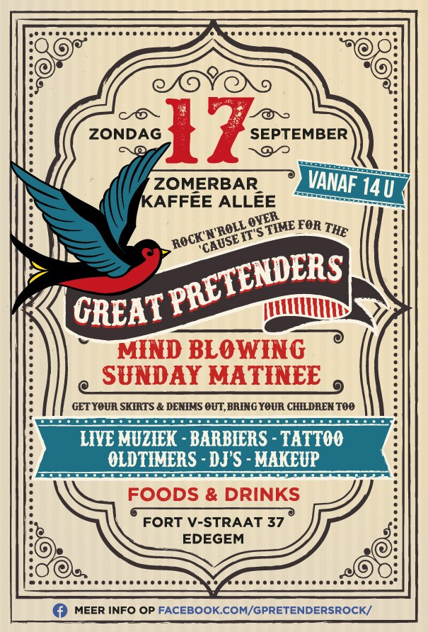 The Great Pretenders Mind Blowing Sunday Matinee (Edegem)