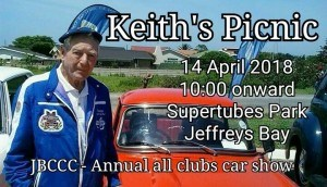 Keith's Picnic – Jeffreys Bay Classic Car Club
