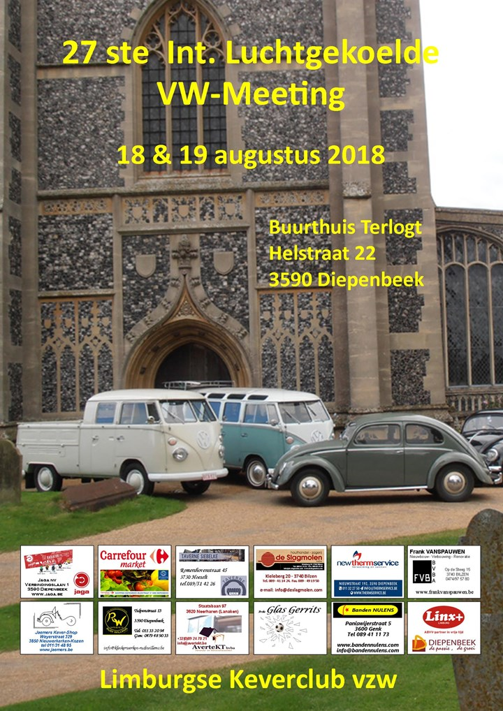 27th Int. Air-cooled VW meeting