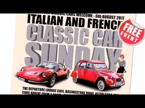 Italian and French Classic Car Sunday