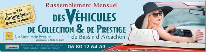 Vehicules de collection et de Prestige du Bassin d'Arcachon