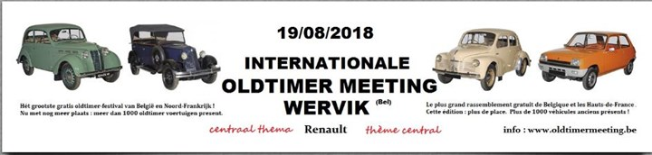 International Oldtimer Meeting Wervik