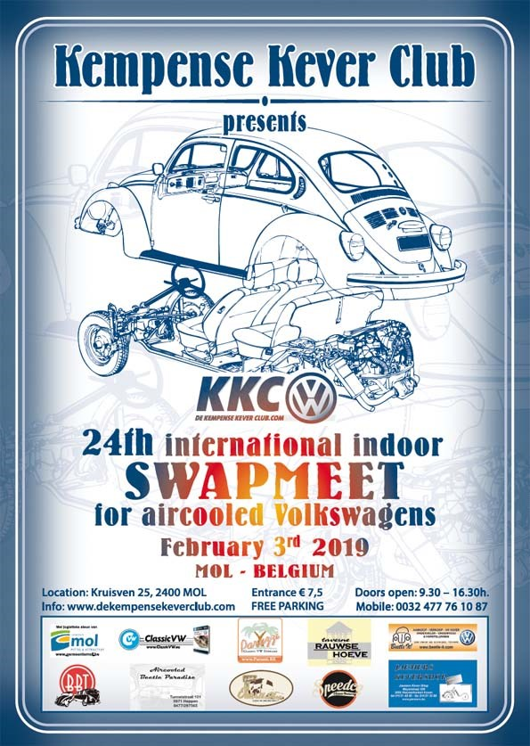 24th Swapmeet for aircooled Volkswagens