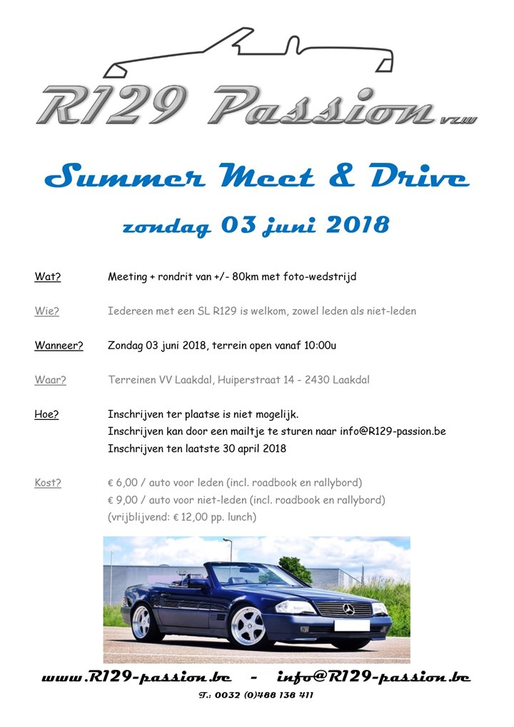 R129 Passion - Summer Meet & Drive