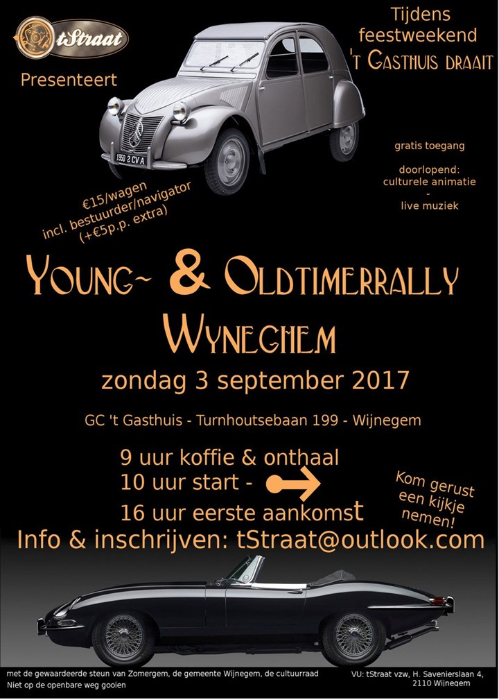 Young and oldtimerrally Wyneghem (Wijnegem)