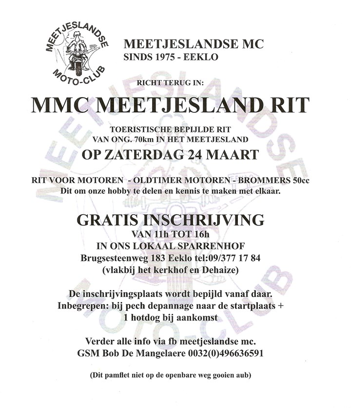 Meetjesland ride (Eeklo)