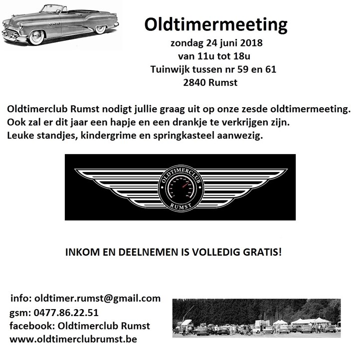 Oldtimer meeting Rumst