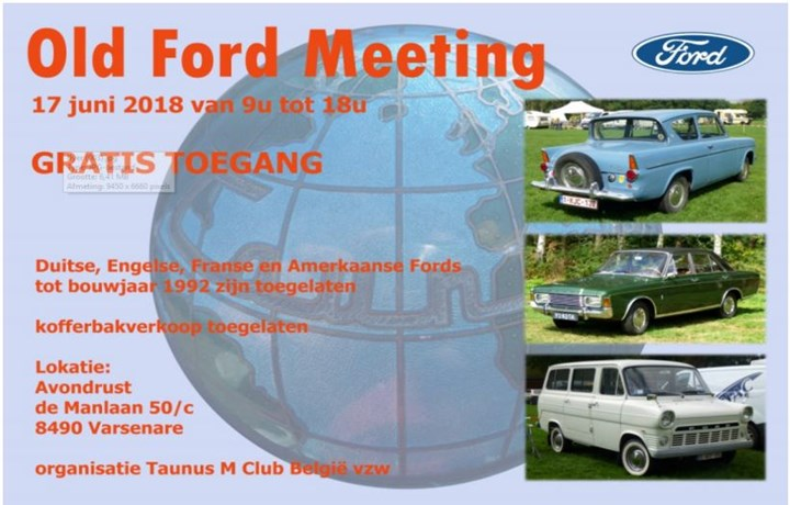 Old Ford meeting