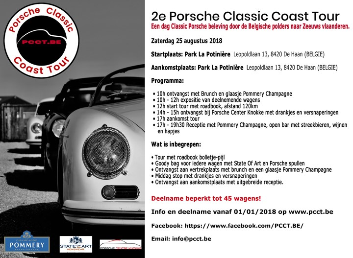 2nd Porsche Classic Coast Tour