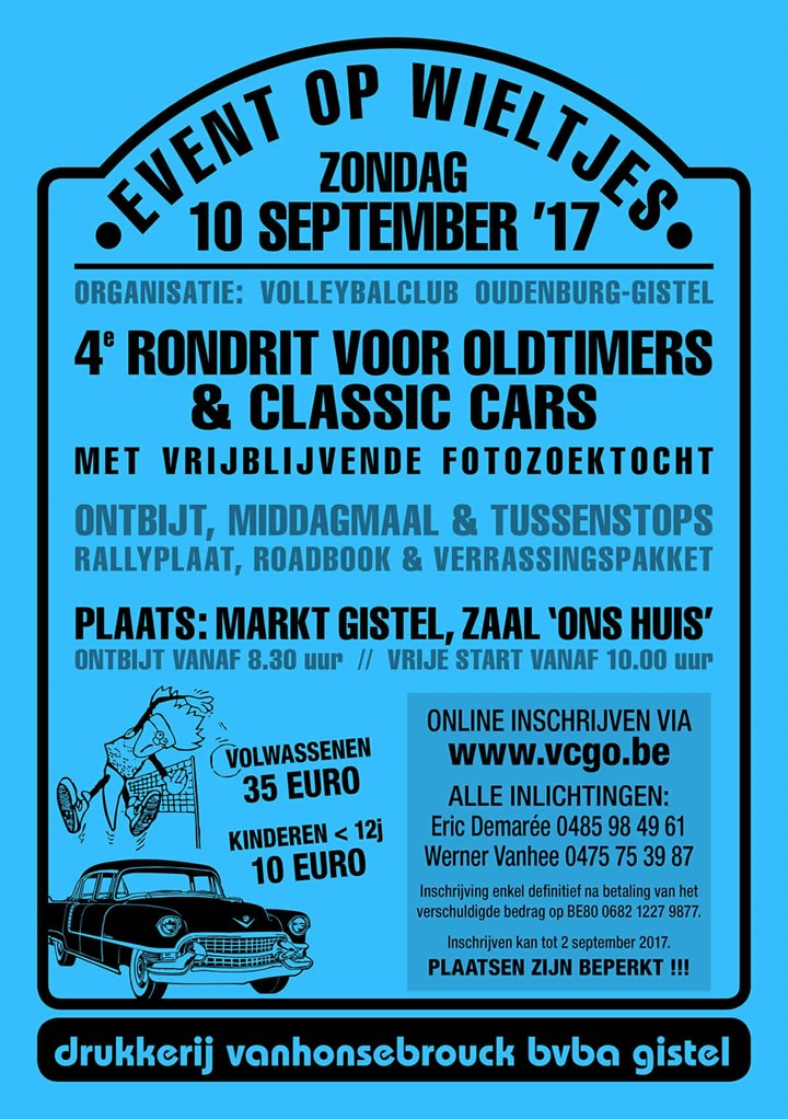 Event on Wheels (Edition 4) (Gistel)