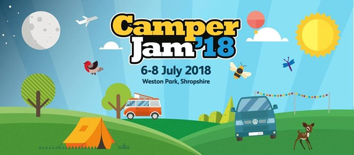 Camper Jam 2018 – The Family Friendly & Fun VW Show
