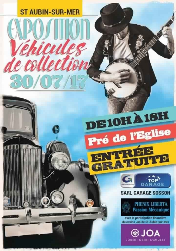 Exposition de voitures de collection
