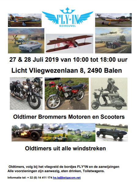 FLY*IN en Oldtimer Weekend Keiheuvel